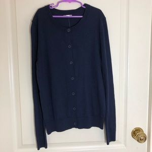 BRAND NEW black gap cardigan